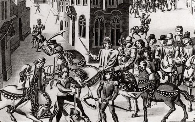 English Peasants' Revolt 1381