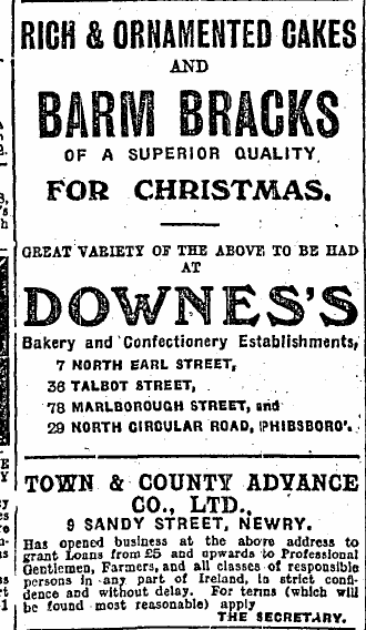 Irish independent, Dec 18th, 1912