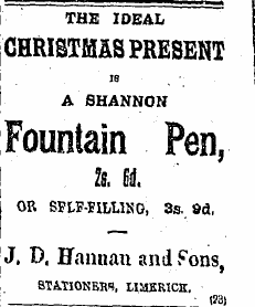 Limerick Leader, Dec 23rd, 1912
