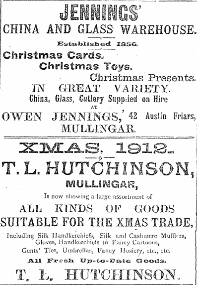 Westmeath Examiner, Dec 21st, 1912
