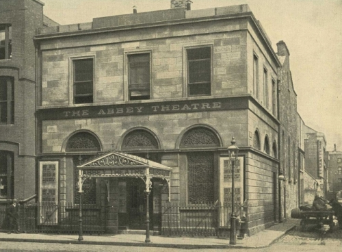The Mechanics' Institute (which became the original Abbey Theatre) source: abbey.ie